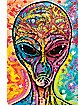 Colorful Alien Poster