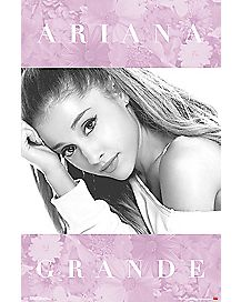 Floral Ariana Grande Poster