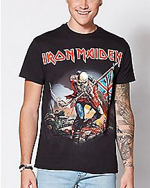 Trooper Iron Maiden T Shirt