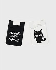 Meow's It Going Cat ID Holders - 2 Pack