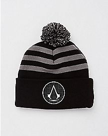 Pom Assassin's Creed Beanie Hat