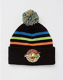 Pom Space Jam Beanie Hat
