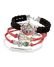 Looney Tunes  Watch and Bracelets - 4 Pack