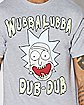 Wubba Lubba Dub-Dub Rick and Morty T Shirt