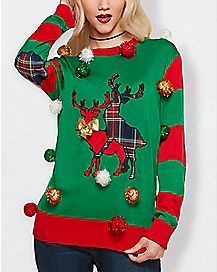 70037f5a7e507 Ugly Funny Christmas Sweaters for Men   Women - Spencer s