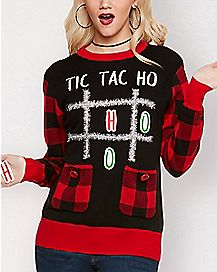 7d9032d8e01af Ugly Funny Christmas Sweaters for Men   Women - Spencer s