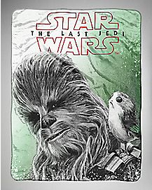 Chewbacca Fleece Blanket - Star Wars