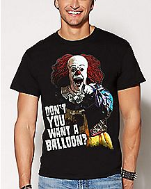 Want A Balloon Pennywise T Shirt - It