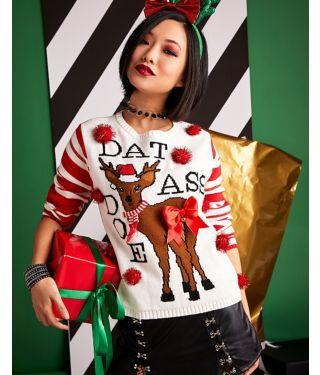 Dat Ass Doe Ugly Christmas Sweater