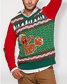 35e0c4f7c Ugly Funny Christmas Sweaters for Men   Women - Spencer s