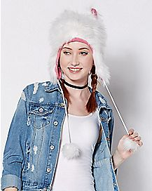 Faux Fur Cat Laplander Hat