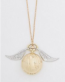 Snitch Necklace Watch - Harry Potter