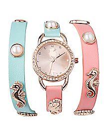 Wrapped Bracelet The Little Mermaid Watch - Disney