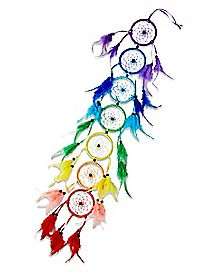 Rainbow Chakra Dream Catcher