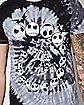 Spiral Tie Dye Jack Skellington T Shirt - The Nightmare Before Christmas