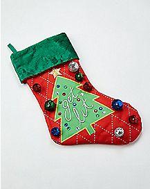 Get Lit Light-Up Christmas Stocking