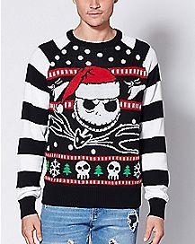 Jack Skellington The Nightmare Before Christmas Ugly Christmas Sweater