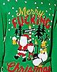 Merry Fucking Christmas Ugly Christmas Sweater