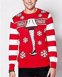 Leg Lamp A Christmas Story Ugly Christmas Sweater