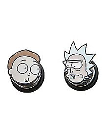 Rick and Morty Fake Plugs - 18 Gauge