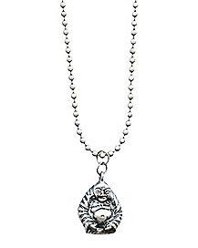Ball Chain Buddha Necklace