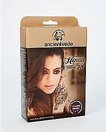Henna Tattoo Kit