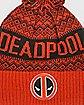 Pom Deadpool Beanie Hat - Marvel