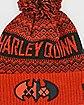 Pom Harley Quinn Beanie Hat - DC Comics