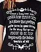 Storybook The Nightmare Before Christmas T Shirt