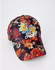 Floral Fuck Dad Hat