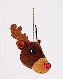 Angry Reindeer Christmas Ornament