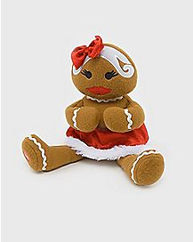 7.5 Inch Naughty Gingerbread Lady Animatronics - Decorations
