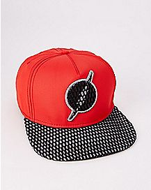 Perforated The Flash Snapback Hat - DC Comics
