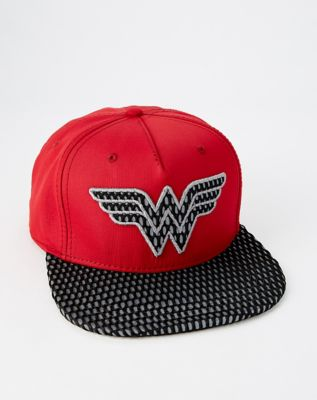 423951d3f856a Perforated The Flash Snapback Hat - DC Comics - Spencer s