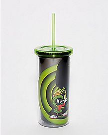 Marvin The Martian Cup With Straw - Looney Tunes