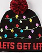 Light Up Let's Get Lit Beanie Hat