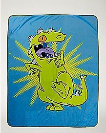 Reptar Fleece Blanket - Rugrats