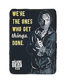 Rick Fleece Blanket - The Walking Dead