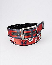 Reversible Deadpool Belt - Marvel