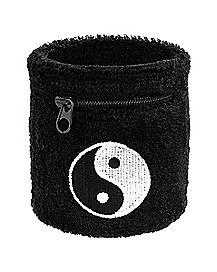 Zipper Yin Yang Wristband