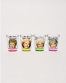 Golden Girls Shot Glasses 4 Pack - 1.5 oz.