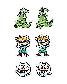 Rugrats Stud Earrings 3 Pair - Nickelodeon
