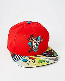 86b749d31cc Lenticular Taz Snapback Hat - Looney Tunes