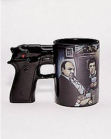 Gangster Gun Coffee Mug - 15 oz.