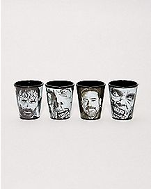 The Walking Dead Shot Glass 2 oz. - 4 Pack