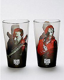 The Walking Dead Pint Glasses 2 Pack - 16 oz.
