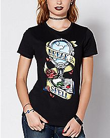 Tattoo Beauty and the Beast T Shirt - Disney