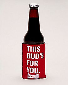 This Bud's For You Budweiser Can Cooler