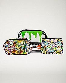 Nickelodeon Rewind Cosmetic Bags - 3 Piece