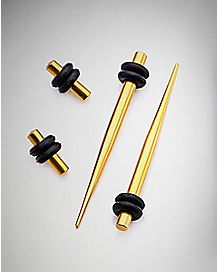 Plugs and Tapers - 2 Pair